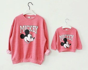 Mommy and Me Mickey Mouse  Hoodie