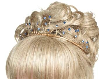 Bridal Tiara, Wedding Tiara, Wedding Headdress, Tiaras And Crowns, Bridal Headdress, Tiaras For Brideds, Coloured Tiaras, Weddings