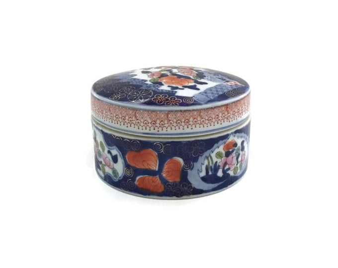 Chinese Stoneware Lidded Rice Bowl