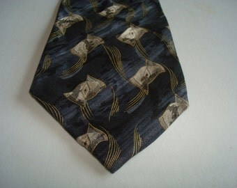 Albert Nippon silk tie,