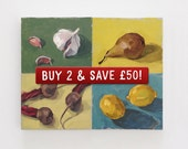 """Special Offer! Original Still Life Oil Paintings by Matt Waruszynski - small canvas 8"""" x 10"""" - Buy 2 and save FIFTY POUNDS!!!"""