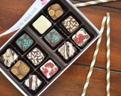Chocolate covered marshmallows - Assorted