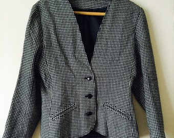 Hounds tooth check jacket