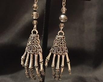 Skeleton Hand Earrings (Item #513)