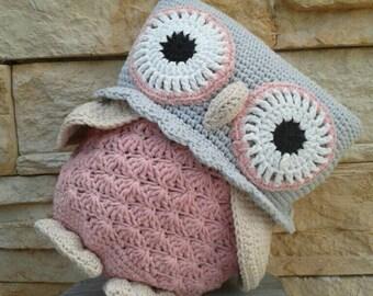 Crochet Owl-Stuffed,owl-amigurumi,owl-toy,owl-crochet,stuffed owl decoration owl-plush owl-owl toy-Kids Owl Plushy Toy