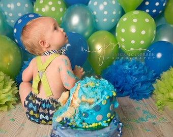 Little man 1st birthday outfit, little man birthday theme, blue and green birthday, little man cake smash outfit, baby boy birthday