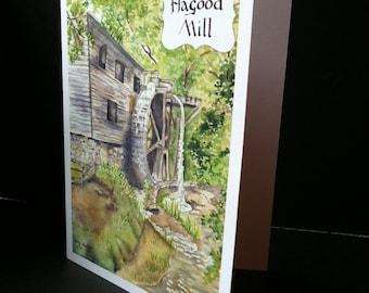 Hagood Mill Greeting Card