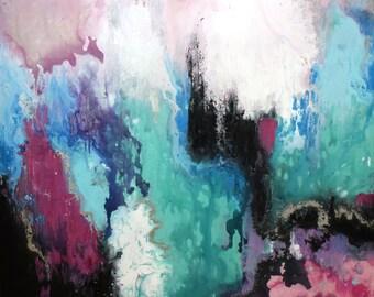 Dark Matter Abstract Painting