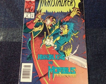 Marvel Comics Nightstalkers #8 Comic Book. VG Condition.