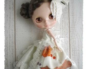 Blythe Doll / Dress of the kimono