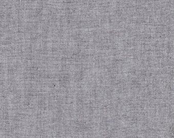 Chambray/ Charcoal Grey Chambray/ Grey Chambray/ 100% Cotton