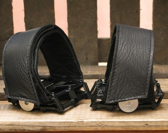 PEDAL STRAPS BLACK