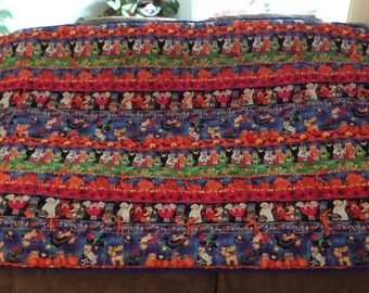 Trick or Treat Halloween blanket