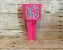 Monogrammed Beach Spiker | Bachelorette Party Swag | Beach | Summer | Bachelorette Party Favor | Birthday Gift | Personalized Gift