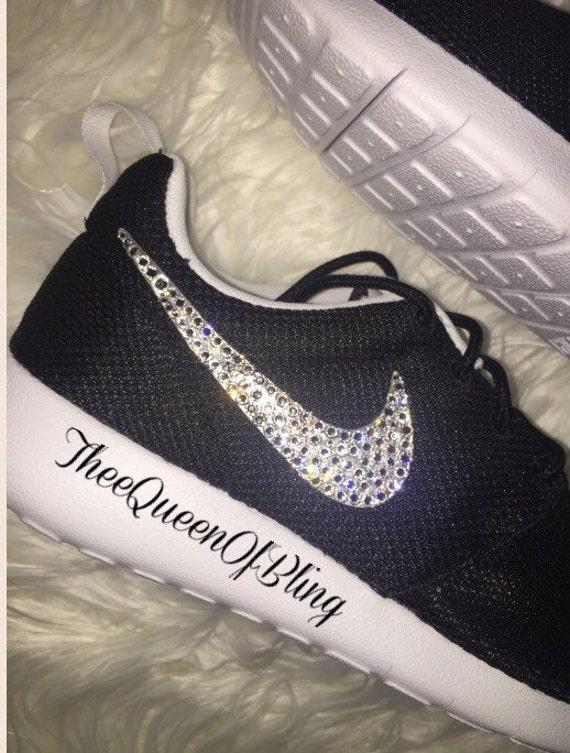 Custom Nike Roshe Runs Bling  6f5ddbf4f396