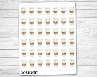 B019 | Coffee Drink Stickers
