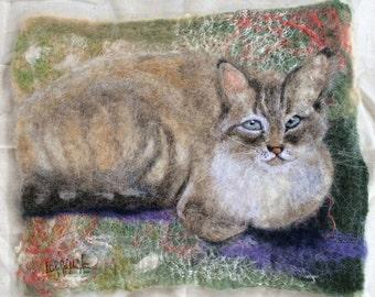 Custom Wool Watercolor Portraits
