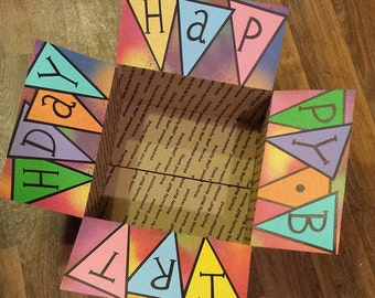 Care Package Decorating Kit- Happy Birthday