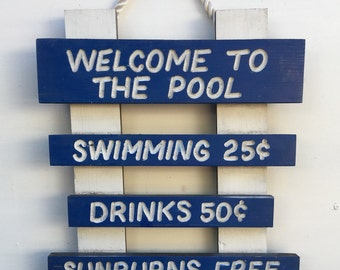 Welcome To The Pool