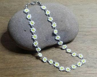 Daisy Chain Anklet/Ankle Bracelet..Beach,Festival