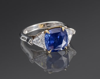5CT Ceylon Sapphire Ring