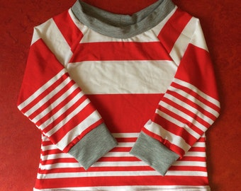 Striped retro shirt