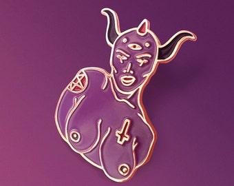 Demoness Enamel Pin