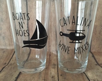 Step brothers gift set | Catalina Wine Mixer | Boats and Hoes | Best Friend