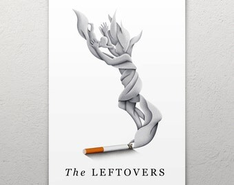 The Leftovers Cigarette Departure Poster