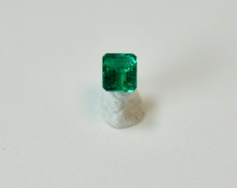 Natural Colombian Emerald - Untreated