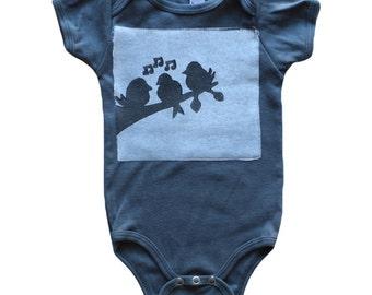 Three little birds Bob Marley baby onesie, bob marley shirt, 3 little birds, baby gift, infant onesie, baby onsies, ASPHALT