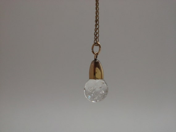 how to make floating crystal necklace