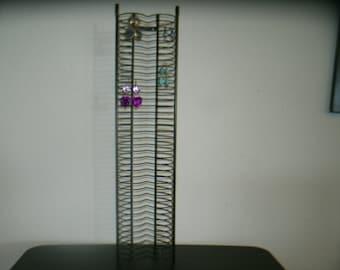 Re-purpose reuse Earring Display or Storage