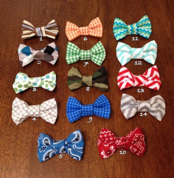 5 Interchangeable Bow Ties
