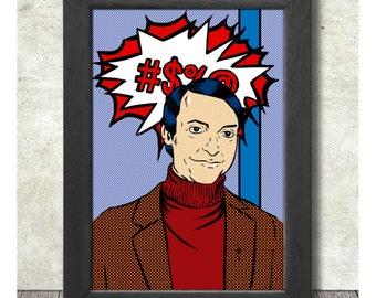 Roy Lichtenstein Poster Print A3+ 13 x 19 in - 33 x 48 cm Buy 2 Get 1 Free