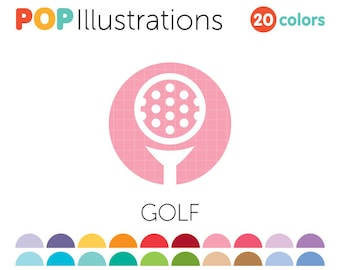 Golf Clip-Art for Commercial Use - A0275