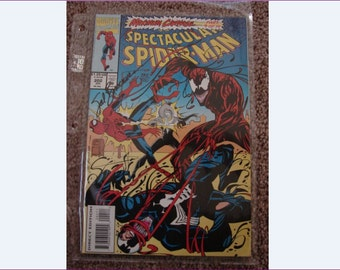 SPIDER-MAN,  Complete Set, Maximum Carnage, Artists Signed, NM++ Limited Edition, Dynamic Forces, 1993 Marvel Comic Books, #2705