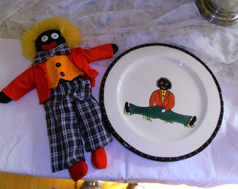 Golly Wog and Golly Wog Plate