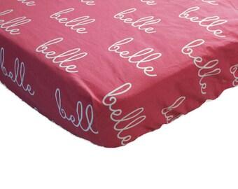 Crib Sheet - Baby Bedding - Crib Bedding - Custom Crib Bedding - Fitted Crib Sheet - Custom Crib Sheet - Crib Bedding Girl -Crib Bedding Boy