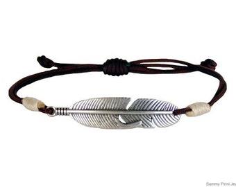 VRA00140 Mens bracelet #leaf