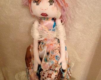 "Ooak art doll ""Dora"""