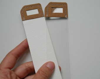 Washable paper tag/bookmark
