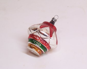vintage glass christmas tree ornament