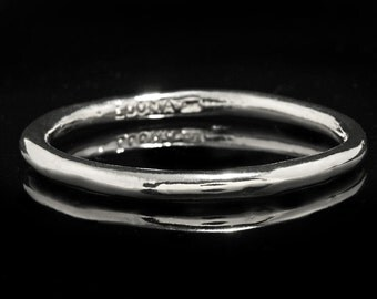 Solid Sterling Silver Bangle Bracelet/Plain silver Bangle/Heavy Plain Bangle/Silver Bangle Bracelet.
