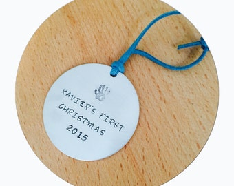 Christmas Tree Ornament | Babies First Chritsmas | Christmas Decoration | New Mum Gift | New Baby | First Christmas Gift | Baby Shower Gift