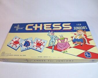 "Chess for Juniors / 1963 / ""Real Chess Made Easy for Children"""