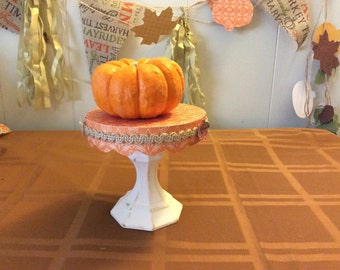 Fall decorative tray/stand