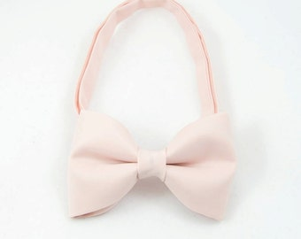 Light Powder Pink  Bowtie Mens Bow Tie Bowtie for Party Wedding Bowtie Mififi