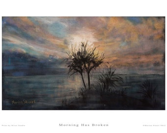 Fine Art Print - Morning Has Broken - Marina Stuart