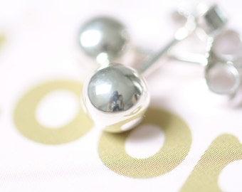 Stud earrings Stud silver bullets genuine silver 925er silver bullets